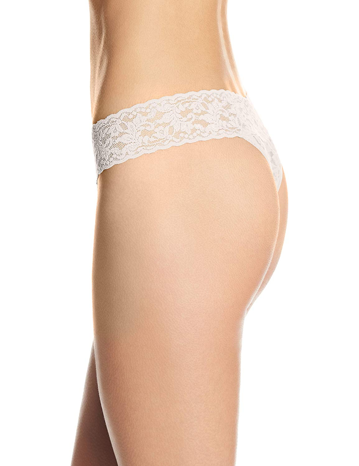 Hanky Panky Signature Lace Original Womens Thong 4811P-IVOR
