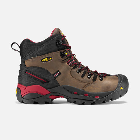 "Keen MEN'S PITTSBURGH 6"" BOOT (STEEL TOE) 1007024"