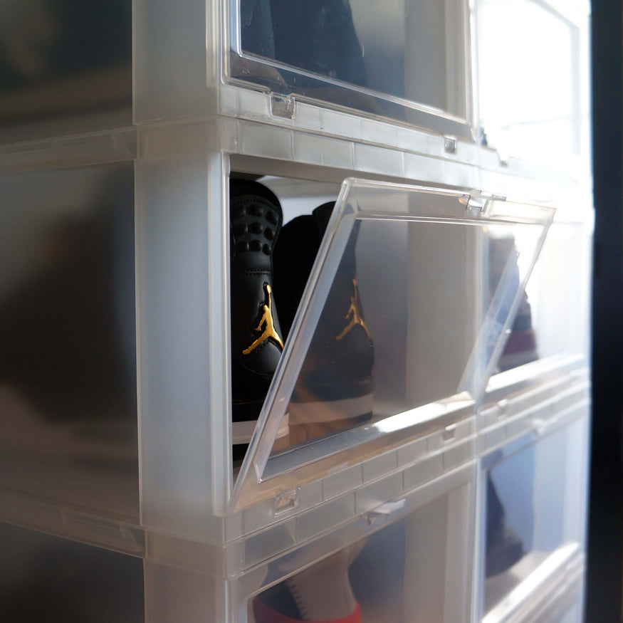 Shoeboxes til Sneakers - Dropfront Shoeboxes til optimal sneaker storage