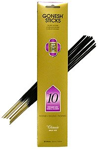 #10 Herbs and Flowers - Gonesh Stick Incense Pack of 20 Sticks
