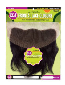 "100% BRAZILIAN VIRGIN REMY FRONTAL LACE CLOSURE 13"" X 4"""
