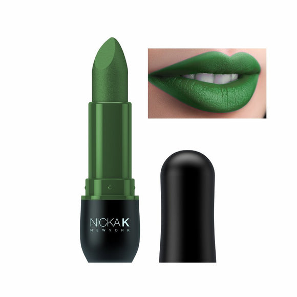 NICKA K Vivid Matte Lipstick NMS11 Sea Green