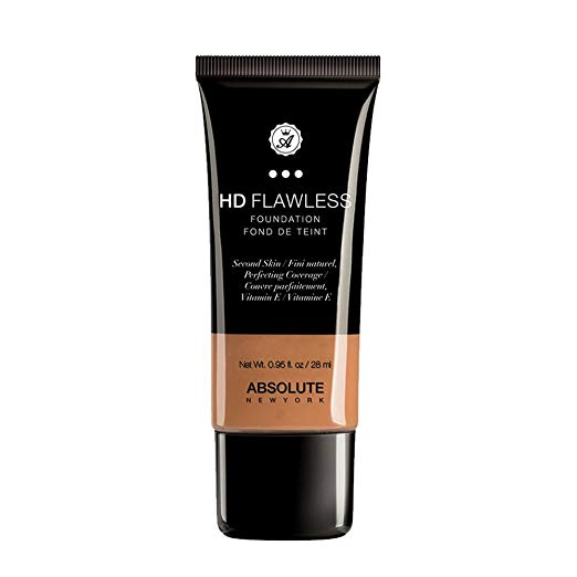 Absolute New York HD Flawless Foundation Caramel