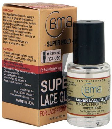 100% Waterproof BMB Super Lace Glue Super Hold 0.5 oz/15ml