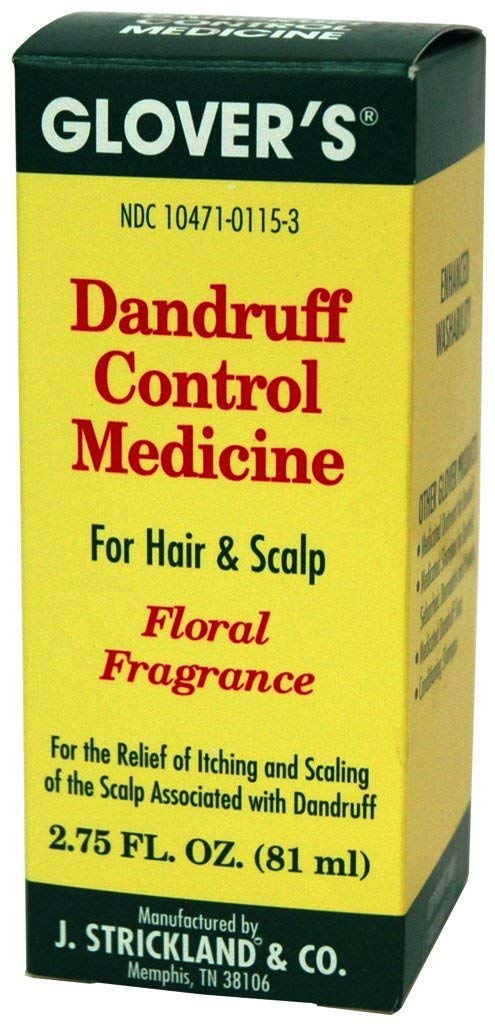 Glover's Dandruff Control Medicine Floral Fragrance, 2.75 Ounce
