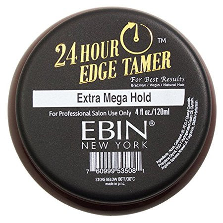 Ebin New York 24 Hour Edge Tamer (24Hr EXTRA MEGA HOLD 4oz)