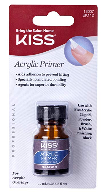 Kiss Acrylic Blister Primer, 0.33 Fluid Ounce
