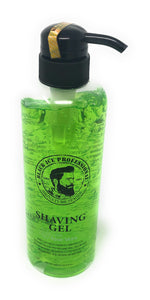 Black Ice Professional Shaving Gel with Aloe Vera 16.9 Fl oz