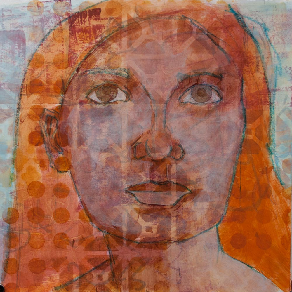 Mixed Media on Paper, Kelly Anne Powers