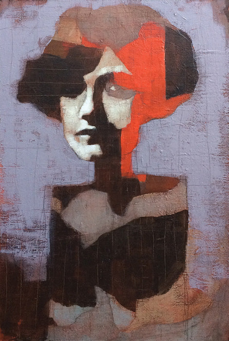 Calico Girl, Karen Wippich. (Is this not the coolest painting you've ever seen?!)