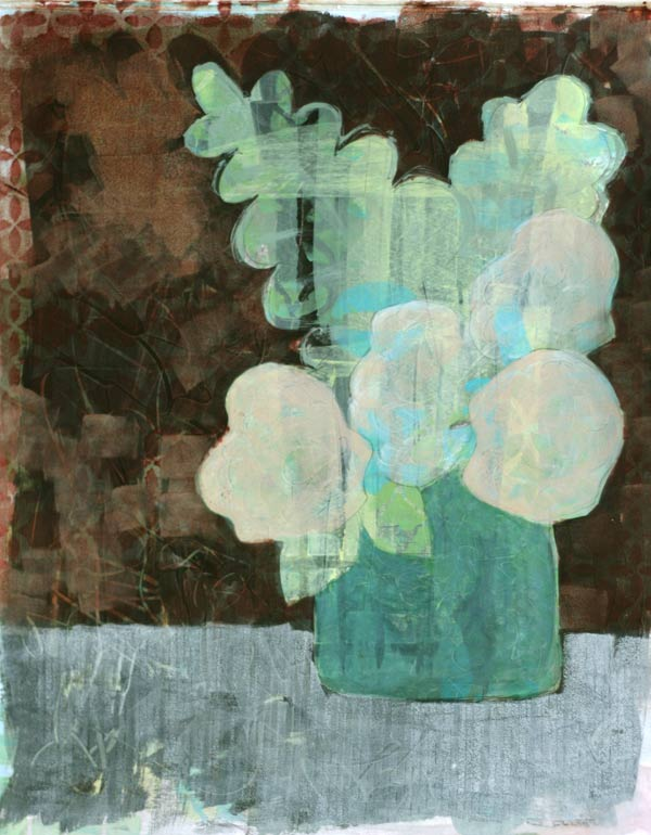 collage, mixed media, painting a day, Kelly Anne Powers artist