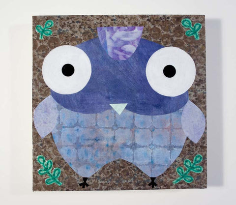 Mixed Media Owl 02
