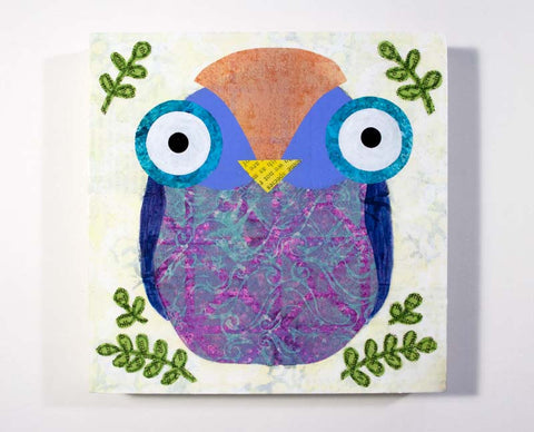 Mixed Media Owl 05
