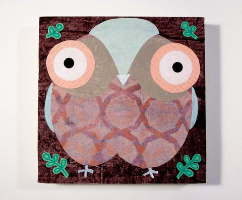 Mixed Media Owl 06