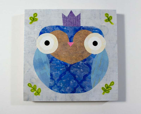 Mixed Media Owl 08