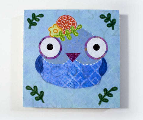 Mixed Media Owl 09