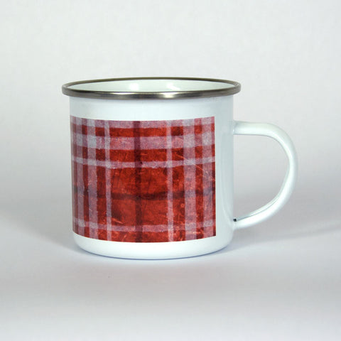 Red Plaid Adventure 10 oz Mug