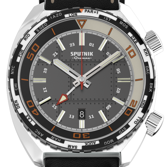 Sputnik GMT Anthracite