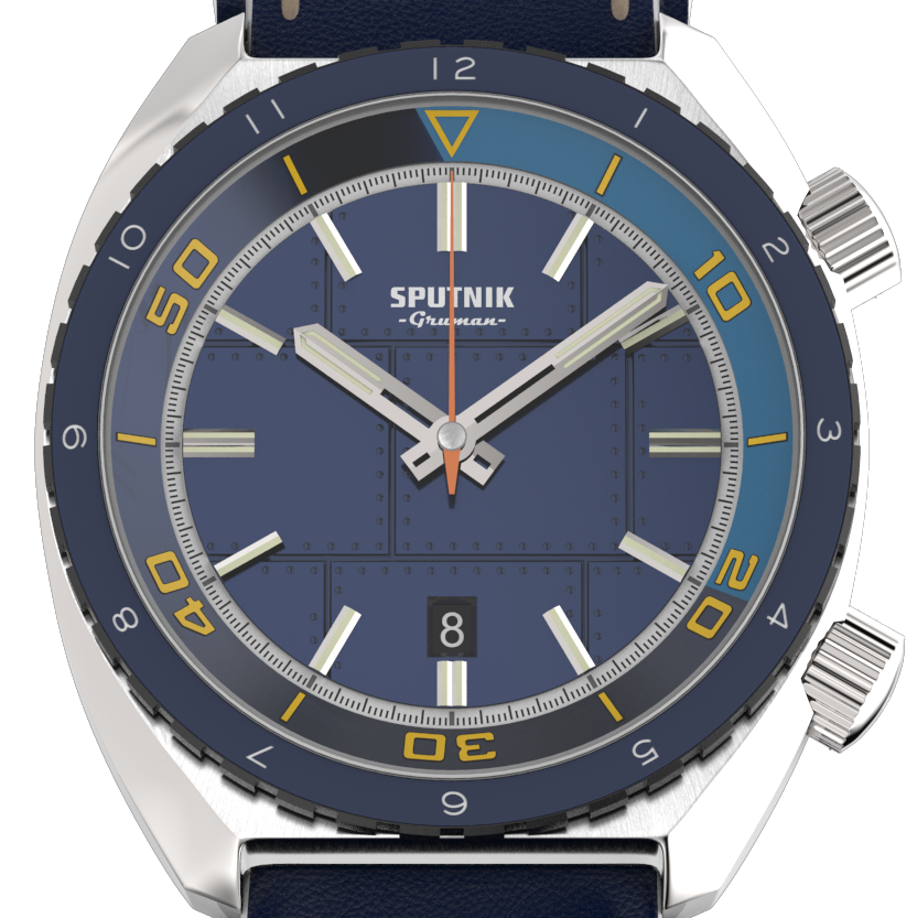 Sputnik 3hands Blue