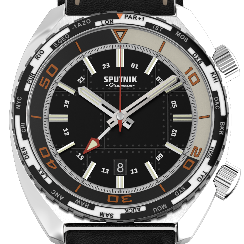 Sputnik GMT Black