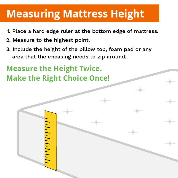 How to measure your mattress – AllergyZone