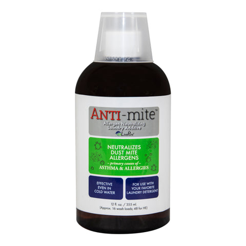 LivePure ANTI-Mite Allergen Removing Laundry Additive