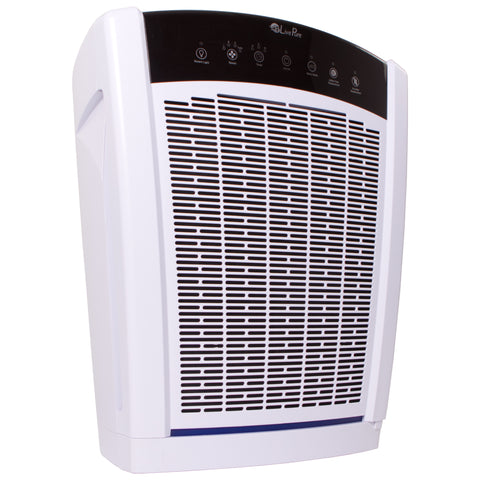 LivePure Bali Large Console True HEPA Air Purifier - White