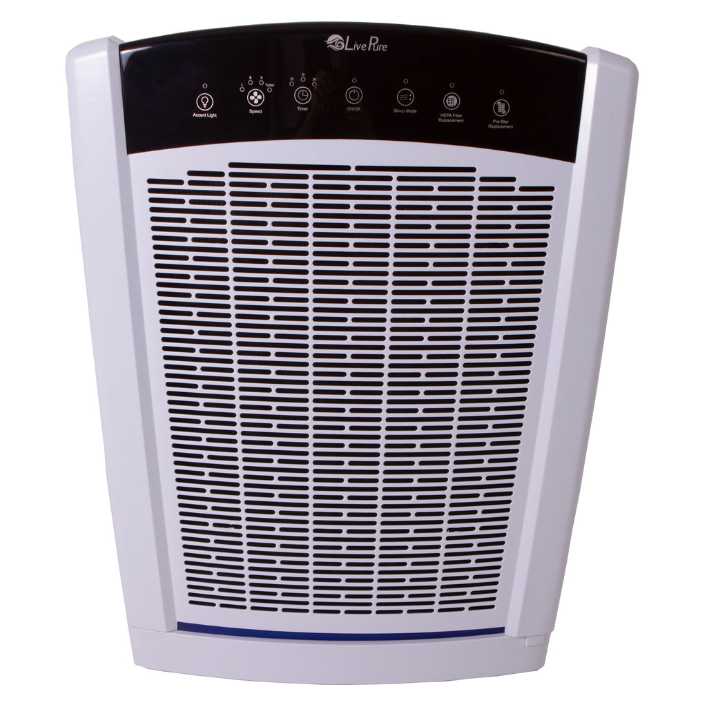 LivePure Bali Series Multi-Room True HEPA Console Air Purifier