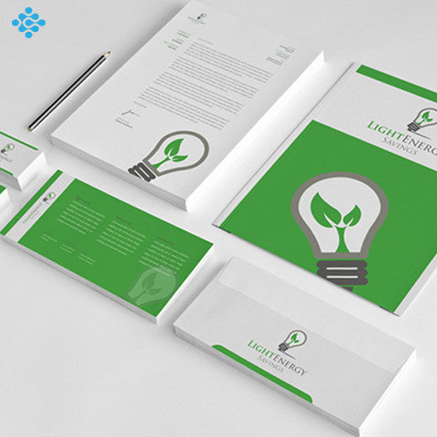 Brand Identity Pack, Business Cards & Stationery - Techzollc