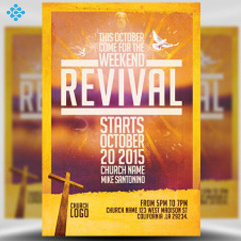 Church Flyer Design, Flyers & Posters - Techzollc