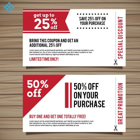 Coupon Design, Flyers & Posters - Techzollc