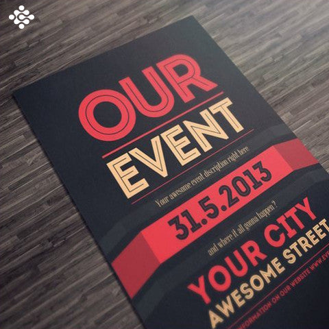 Event Flyer Design, Flyers & Posters - Techzollc