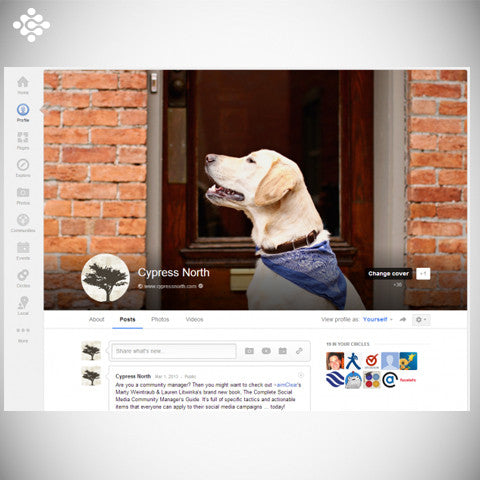 Google Plus Designed Post, Social Media - Techzollc
