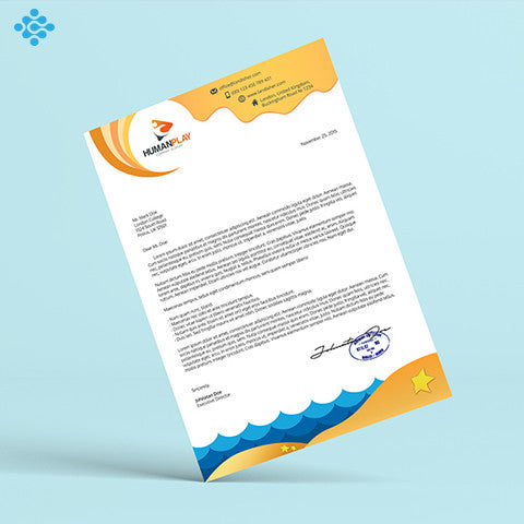 Letterhead Design, Business Cards & Stationery - Techzollc