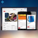 Pinterest Designed Pin, Social Media - Techzollc