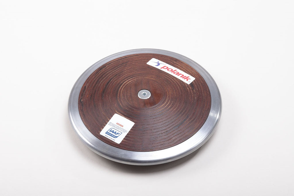 Polanik Hardwood Discus 75% Rim Weight