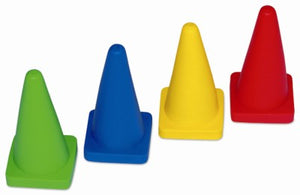Cones 4 Inch - Flexible (IAAF)