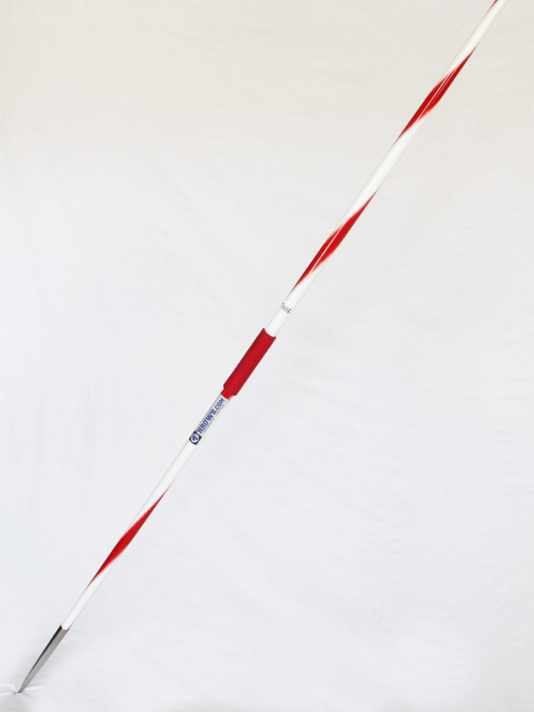 Competition Javelin 400 / 500 / 700 grams,  RED/WHITE