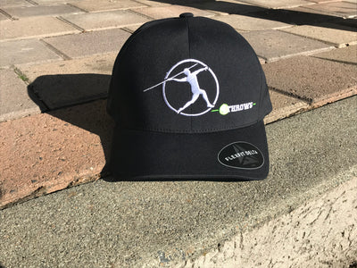 4Throws Javelin Stretch Black Hat
