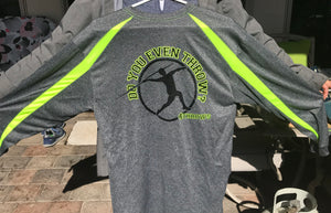 4Throws  Javelin Long Sleeve Athletic Shirt