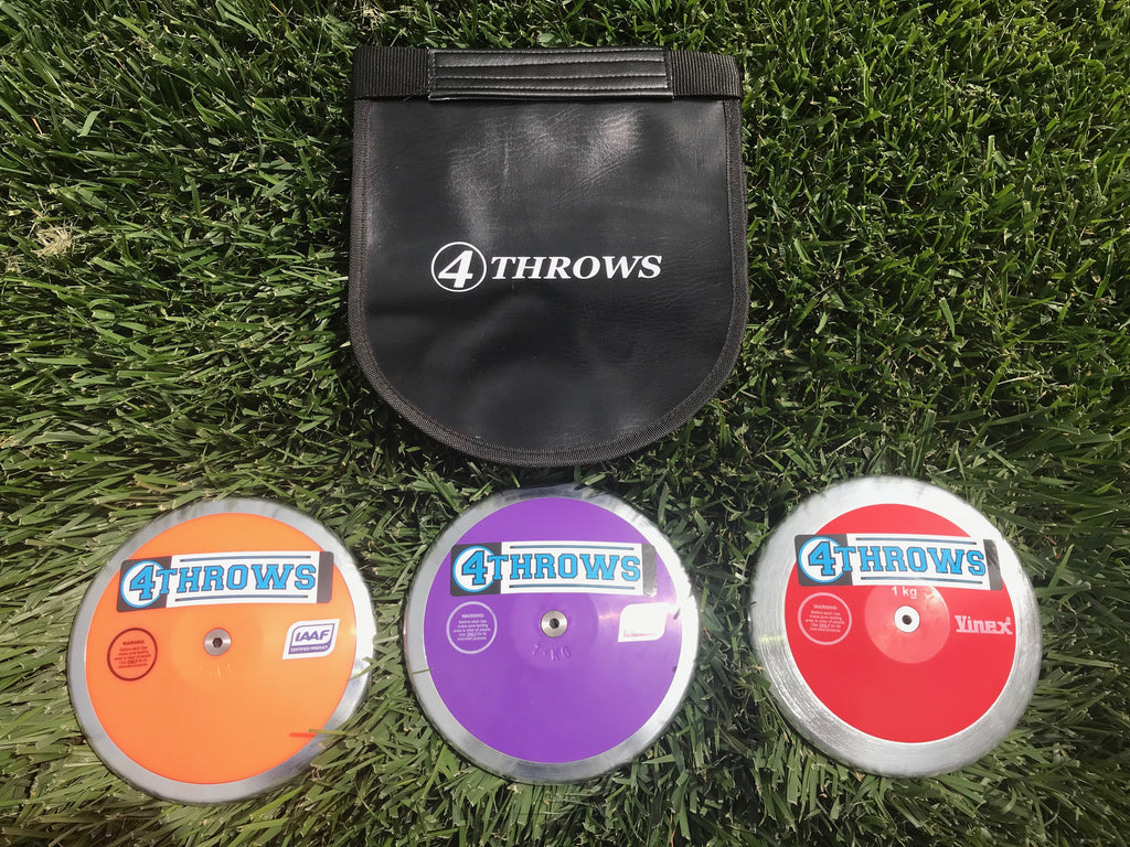 1KG Girls Discus - Intermediate Pack