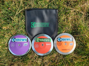 4Throws- 1KG ARETE - High Rim Weight- Discus Pack