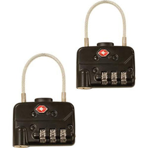 GPC TSA Cable Combination Padlock