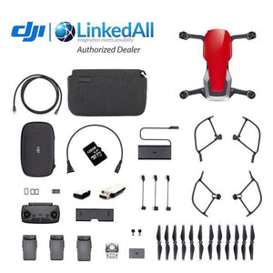 DJI Mavic Air Combo, Card Reader and 128 GB Micro Memory Card
