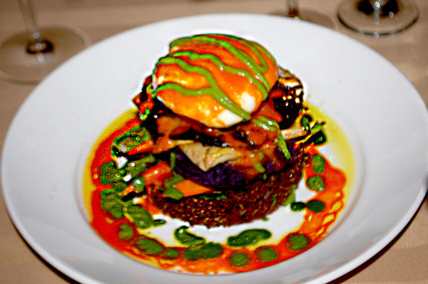 Sterling's Seafood Steakhouse - Vegetarian Napoleon