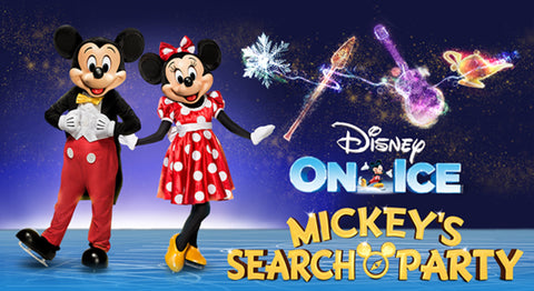 Disney On Ice Mickey's Search Party 冰上迪士尼《米奇的尋人派對》San Jose SAP Center 2/22 SAT 7:00PM