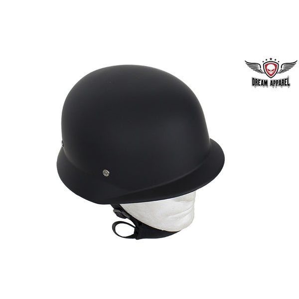Basic Flat Black German Novelty Helmet