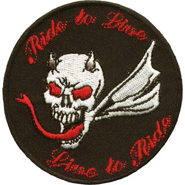 Ride to Live, Live to Ride Patch