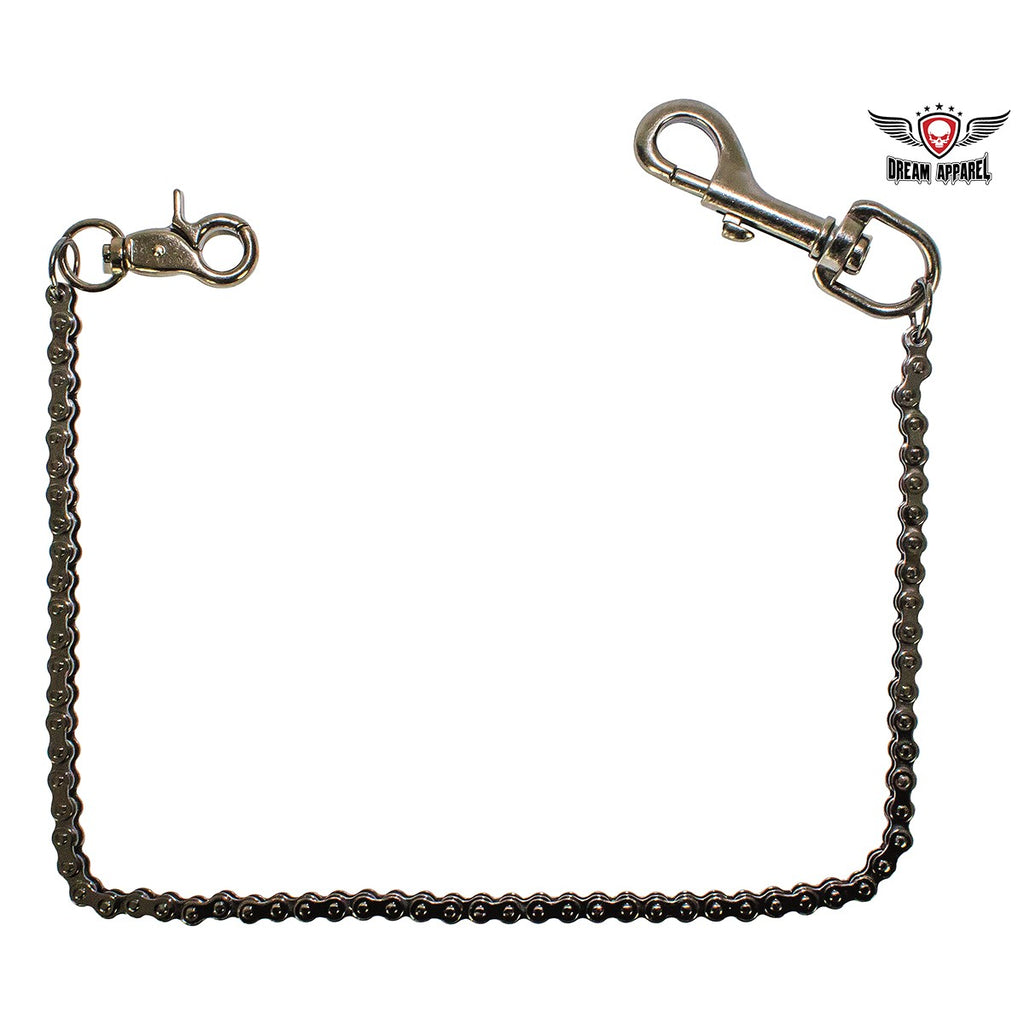 "1/8"" Decorative Biker Chain Wallet"