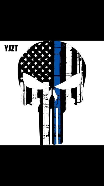Blue Stripe punisher